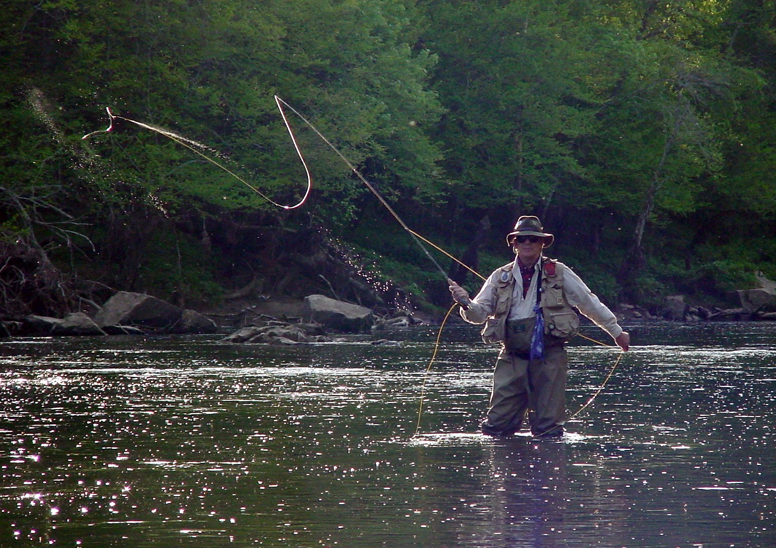 little red fly fishing guide service